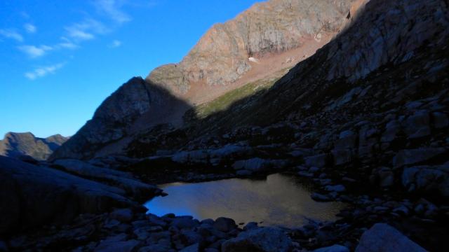 Looking towards  Mount Eolus
