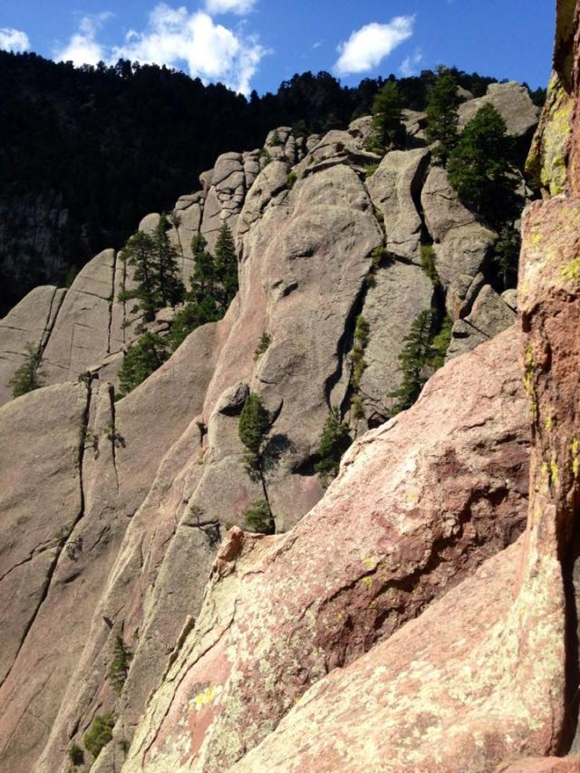 Many other climbs in the Flatirons area, and I'm planning to go explore some new  pieces of rock this year!