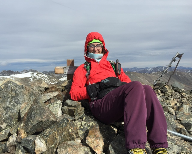 #26 Traver Peak 13, 852, and barely functioning- but still determined!