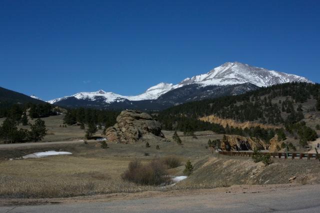 Great view of Meeker/ Longs.